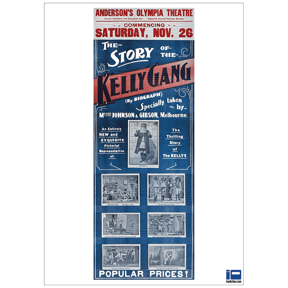 the story of the kelly gang 1906 movie poster full colour reproduction print  u2013 network creative