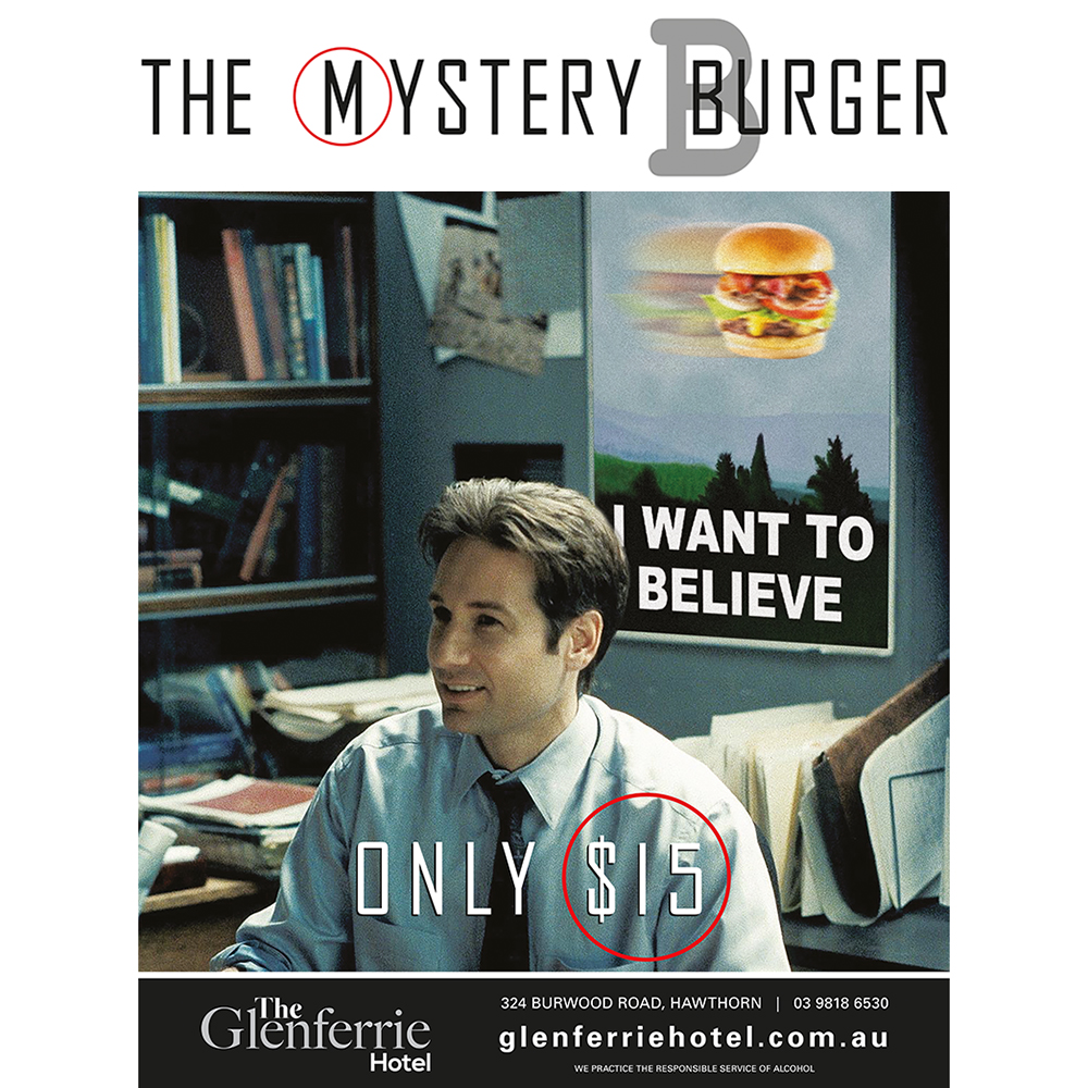 The Mystery Burger